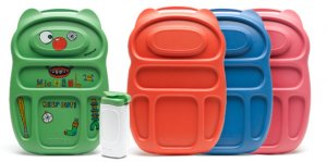 The Goodbyn lunchbox - RED-ORANGE