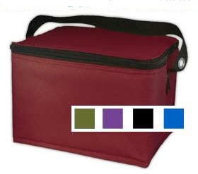 Easy Lunchbox Lunch Bag Cooler, RED