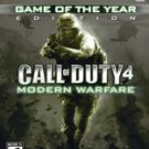 Call of Duty 4 Game of the Year Edition