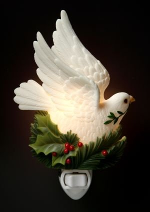Peace Dove Nightlight - Ibis & Orchid Designs