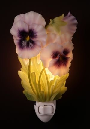 Pansy Nightlight - Ibis & Orchid Designs