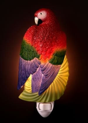 Macaw Parrot Nightlight - Ibis & Orchid Designs