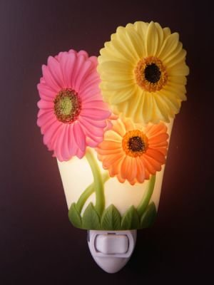 Gerber Daisy Nightlight - Ibis & Orchid Designs