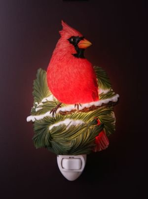 Cardinal Nightlight - Ibis & Orchid Designs
