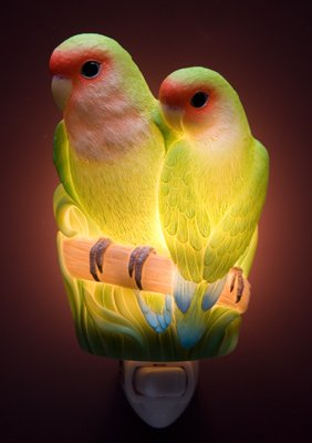 Lovebirds Nightlight - Ibis & Orchid Designs