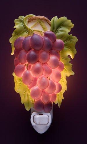 Purple Grapes Nightlight - Ibis & Orchid Designs