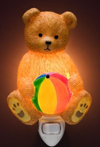 Teddy Bear Nightlight - Ibis & Orchid Designs