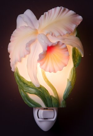 Cattlyea Orchid Nightlight - Ibis & Orchid Designs