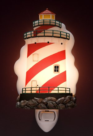 Lighthouse Nightlight - Ibis & Orchid Designs