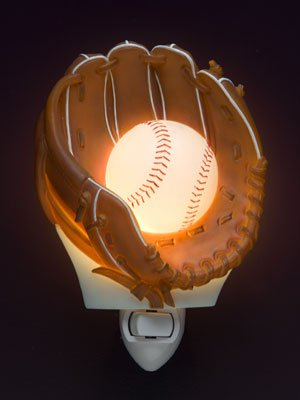 Baseball Nightlight - Ibis & Orchid Designs