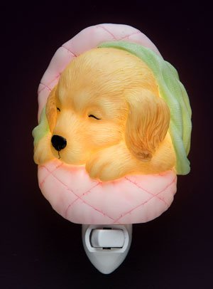 Baby Puppy Nightlight - Ibis & Orchid Designs
