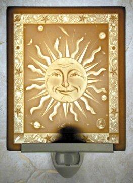 Mr. Sun Flat Lithophane Nightlight