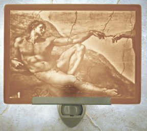 Creation of Adam Flat Lithophane Nightlight