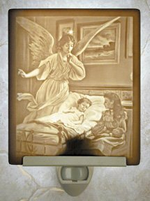 Sleep Tight Flat Lithophane Nightlight