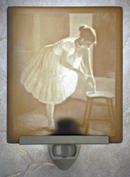 Dress Rehersal Ballet Flat Lithophane Nightlight