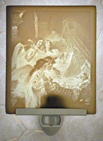 Babys Dream Flat Lithophane Nightlight
