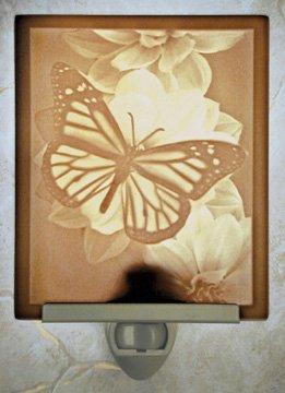 Butterfly Flat Lithophane Nightlight