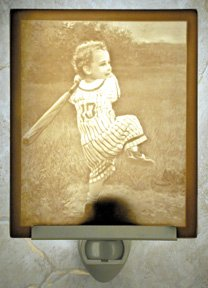 Field of Dreams Flat Lithophane Nightlight