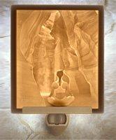 Meditation Flat Lithophane Nightlight