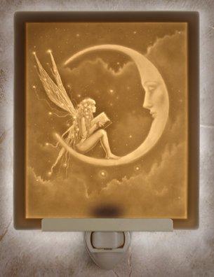 Story Fairy Flat Lithophane Nightlight