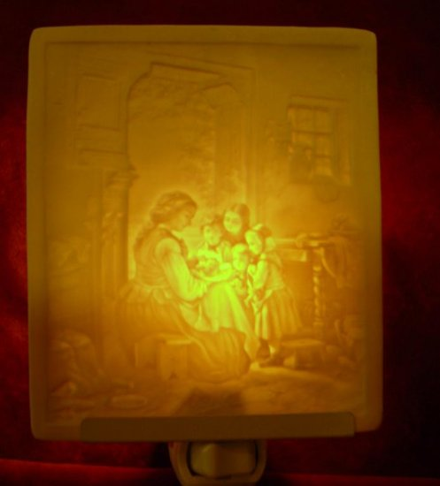 New Baby Belle Rose Farm Classic Lithophane Collection