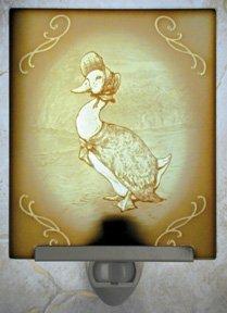 Jemima Puddle Duck Belle Rose Farm Classic Lithophane Collection