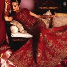 Maroon Lengha