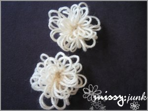 Loopy Flower Brooch