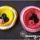 Yellowee Felt Brooch