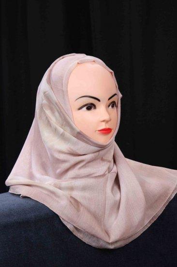 Grey hijab.