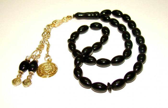 Prayer beads.