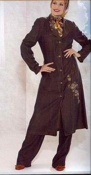 Turkish dark suit