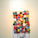 Pebble Night Light - Handmade Fused Glass