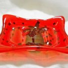 Pineapple Jello Soap Dish - Handmade Fused Glass
