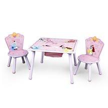 Disney Princess Storage Table and Chair Set