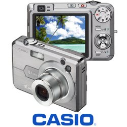 Casio Exilim EX-Z110 - 6.0 MegaPixels Digital Camera with 3x Optical Zoom + 2.0 LCD