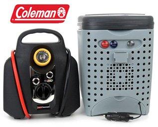 COLEMAN PORTABLE JUMPSTART AND COOLER,WARMER COMBO