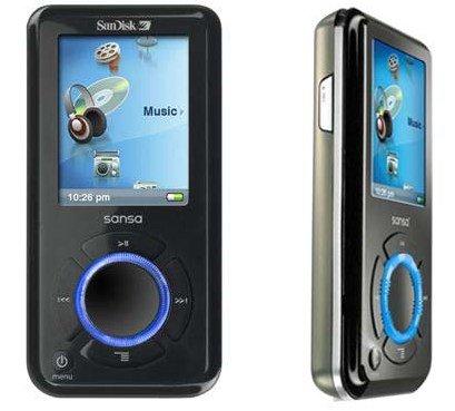 SanDisk Sansa 4GB Portable MP3,Video,Voice Digital Player with FM Tuner
