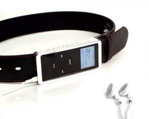 IBelt  High Tech Leather Belt for Ipod Nano