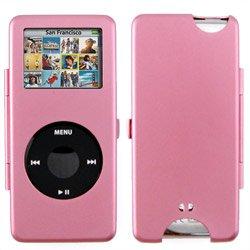 Apple Nano Metal Pink Ipod Case