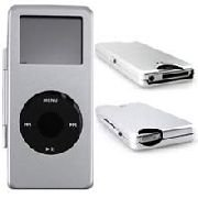 Apple Nano Metal Silver Ipod Case