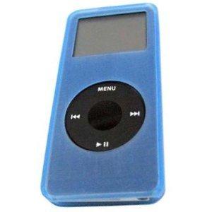 Nano Silicone Baby Blue Ipod Case