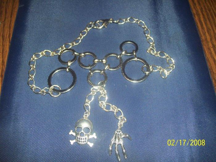 Gothic Skeleton Necklace