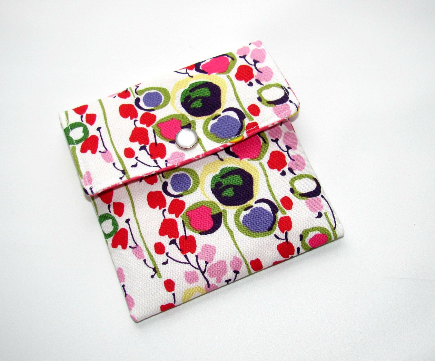 Gift Card Holder, Mini Wallet, Mini Pouch Market Floral