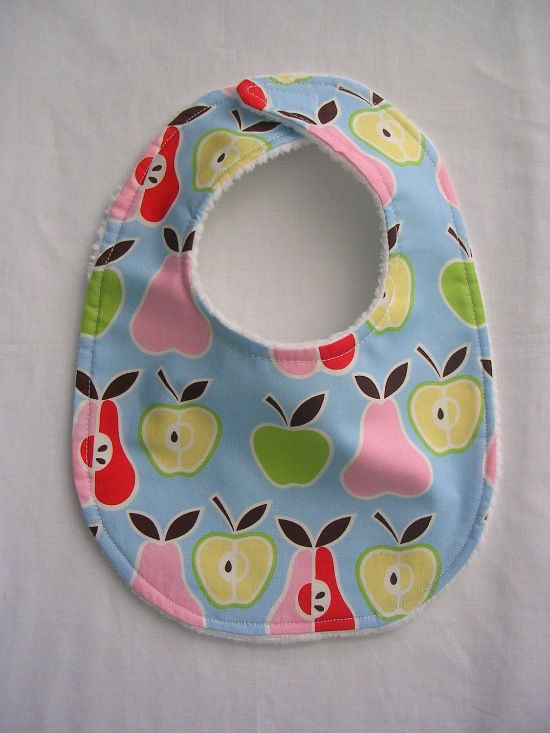 Baby Bib, Baby Shower Gifts Pears and Apples