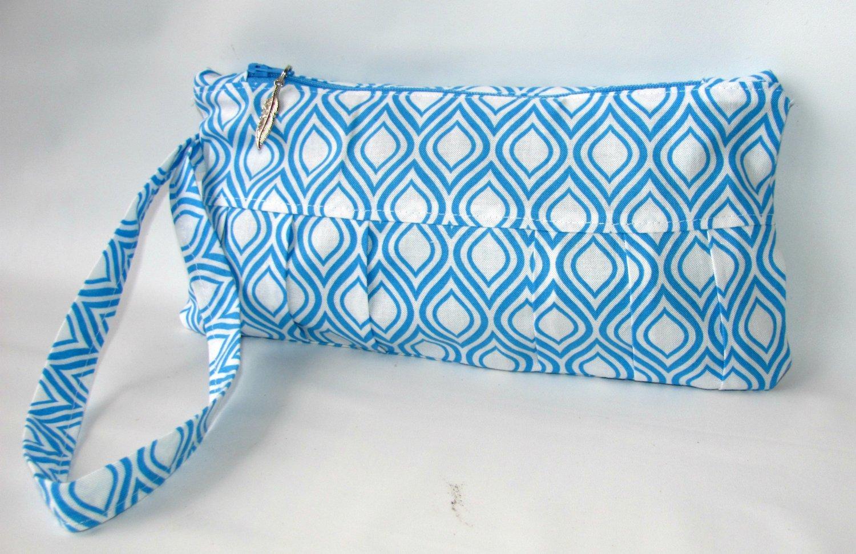 Wristlet  Geometric, Clutch Bag