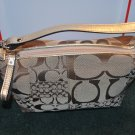 (New) Coach SOHO Cloth  Signature: **Sales Price $138.00**