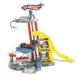 Hot Wheels Flip N GO-Tune Up Tower  **19.99**