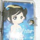 """White"" Address mini binder book"