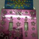 Pink Princess light switch plate